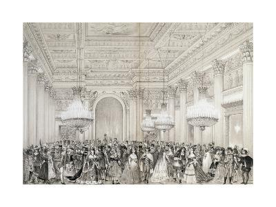 Costume Ball in Front of Dukes of Aosta, Turin, February 16, 1870