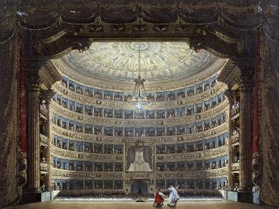 Performance at Teatro Alla Scala in Milan, Italy, 19th Century