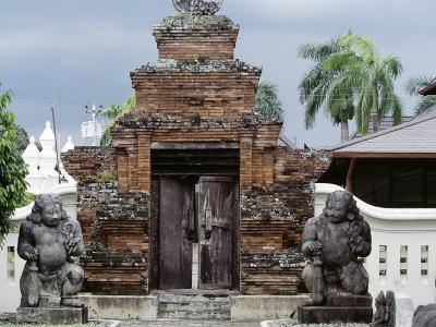 Entrance to Sonobudoyo Museum, Yogyakarta, Java, Indonesia