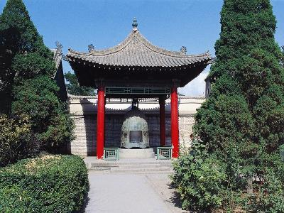Pagoda with Bell, Confucius Temple, Xian, China