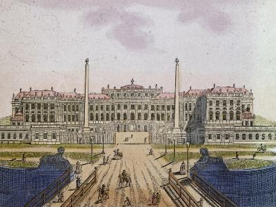 Schonbrunn Palace, Vienna, 1850, Austria, 19th Century