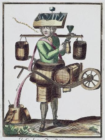 Vinegar Manufacturer, Colored, France, 17th Century