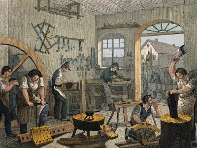 Coachbuilder's Workshop, 1840, France, 19th Century