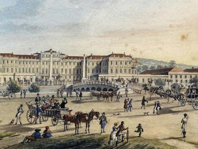 Schoenbrunn Palace in Vienna, Austria, 19th Century