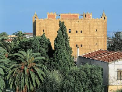 Castle in a City, Zisa, Palermo, Sicily, Italy