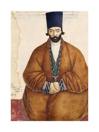 Portrait of a Qajar Noble, C.1864-5