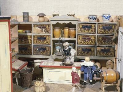 Miniature Shop, Handcrafted Toys, France, 19th Century
