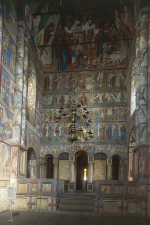 Frescoes Inside Kremlin, 1670-1683, Rostov-Veliky, Golden Ring, Russia