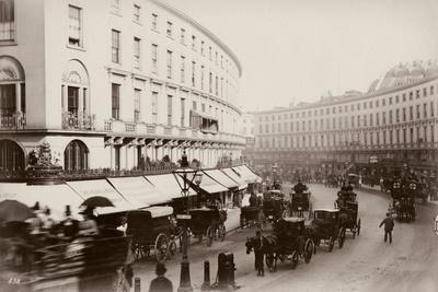 The Quadrant, Regent Street, London, C.1880