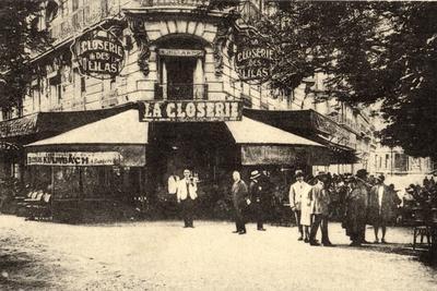 La Closerie Des Lilas, Paris
