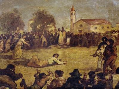 Sack Race, Italy, 19th Century