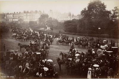 Hyde Park Corner, London, C.1885