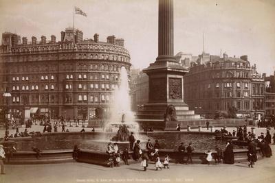 Trafalgar Square, London, C.1885