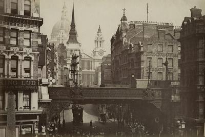 Ludgate Circus, London, C.1880