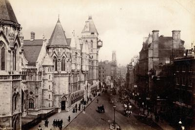 New Law Courts, London, C.1885