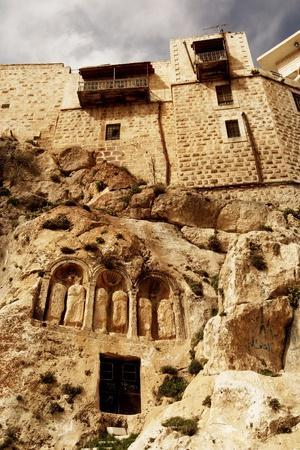 Syria - Saydnaya. Convent of Our Lady of Saydnaya, Ad 547