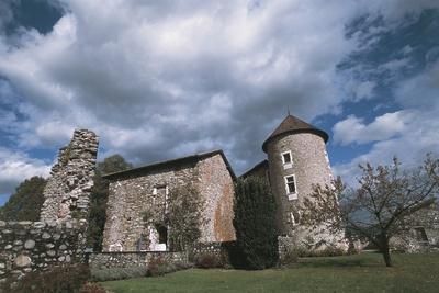 Chateau Bayard, 15th Century, Pontcharra, Rhone-Alpes, France