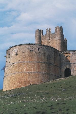 Tower of Berlanga De Duero Castle, 15th Century, Castile-Leon, Spain
