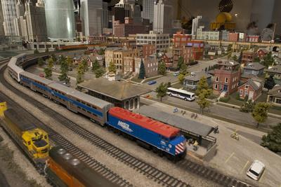 The Great Train Story Exhibit at the Museum of Science and Industry