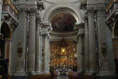Italy, Rome, Santa Maria in Campitelli, 17th Century, Interior