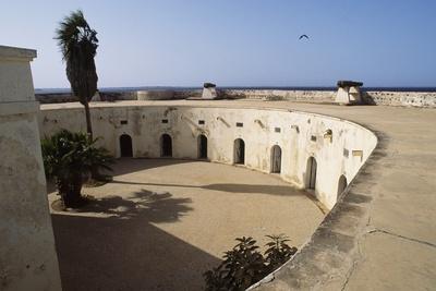Fort D'Estrees Parade Ground, 1856, Goree Island, Senegal