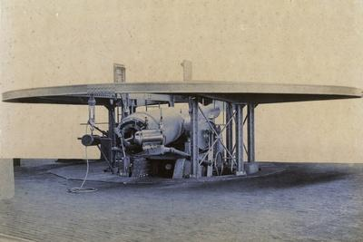 9.2-Inch Naval Cannon, Ready to Fire, Italy, 20th Century