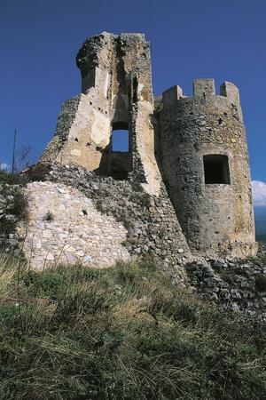 Ruins of Morano Calabro Castle, 15th Century, Calabria, Italy