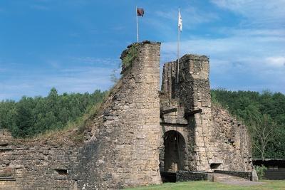 Facade of a Castle, Montcornet Castle, Champagne-Ardenne, France