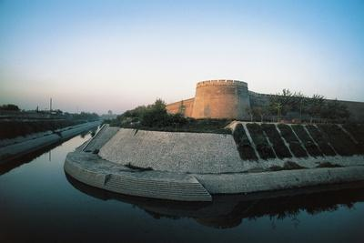 Xi'An City Wall Built by Ming Dynasty, 14th Century, China