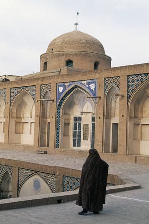 Agha Bozorg Mosque and Madrasah (18th Century), Kashan, Iran