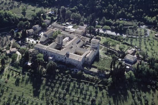 Aerial View of Farfa Abbey, 6th-12th Century, Lazio, Italy' Photographic Print | AllPosters.com