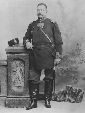 Portrait of General E. Alex De Pogojeff