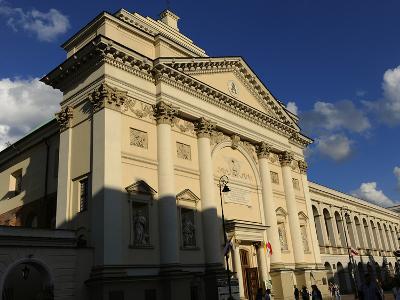 Poland, Warsaw, Saint Anne's Church, 18th Century