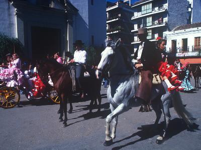 Andalusian Fair, Fuengirola, Andalusia, Spain