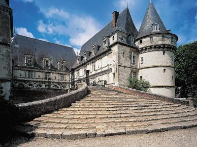 Low Angle View of a Castle, Mesnieres-En-Bray, Haute-Normandy, France