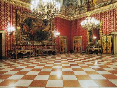 Diplomatic Room, 17th Century, Palazzo Reale, Naples, Campania, Italy