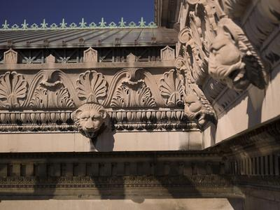 Architectural Detail Atop the Museum