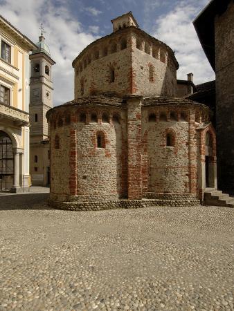 Baptistery (10th Century), Romanesque Style, Biella, Piedmont, Italy
