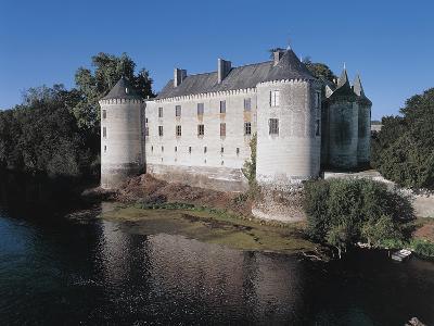 Castle at the Waterfront, La Guerche Castle, Centre, France
