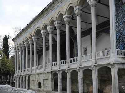 Exterior of Tiled Kiosk Museum, Istanbul, Turkey