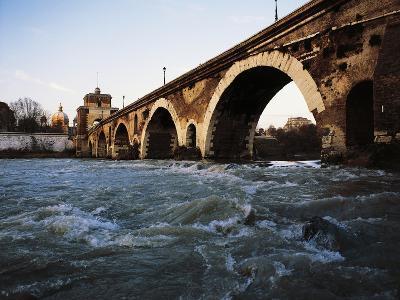 Milvian Bridge, Rome, Lazio, Italy