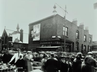 East Street Market, Corner of East Street and Blackwood Street, 1939