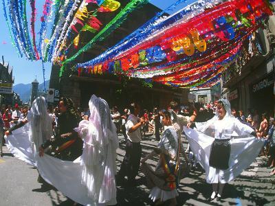 Folkloric Dancing, Escalder-Engordany Festival, Andorra