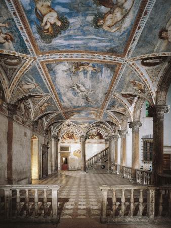 Interiors of a Castle, Buonconsiglio Castle, Trento, Trentino, Italy