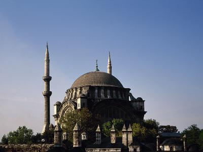 Turkey, Istanbul, Nuruosmaniye Mosque, 1748-1755, Exterior