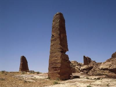 Obelisks, Petra (Unesco World Heritage List, 1985), Jordan