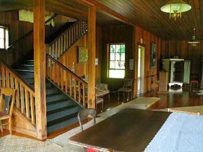The Grand Staircase, Villa Vailima, Apia, Samoa