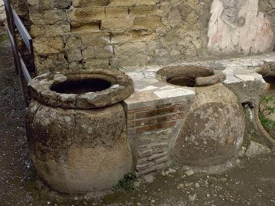 Italy, Herculaneum, Thermopolium
