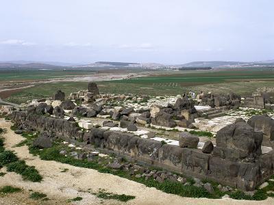 Syria, Ain Dara Temple, Panorama