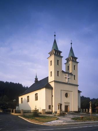 Church of Sts. John and Paul, Martyrs, Horní Becva, Czech Republic